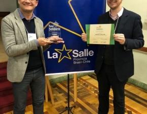 Abel recebe reconhecimento no projeto Sou Solidário