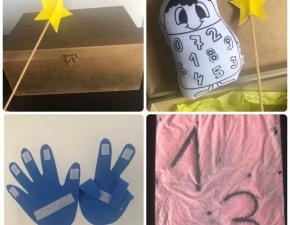 Caixa Mágica dos Números - Pré I