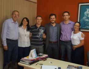 Deputado Estadual Catarina visita a Escola